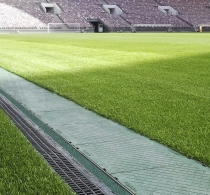 18/05/2018 - SERVICE CHANNEL system in the LUSCHNIKI-STADIUM in Moscow, Russia
